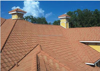 Bottom price best sell red land roof tiles