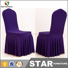 wholesale cheap ruffled wedding chair cover for sale
