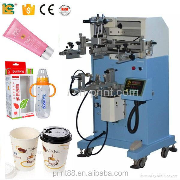 Digital t shirt screen printer for plastic paper cup for Screen printing machine for t shirts for sale