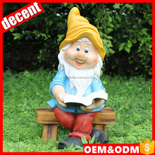 Home decor wholesale resin garden gnomes