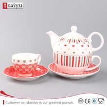 customized factory supply hand painted japanese tea set