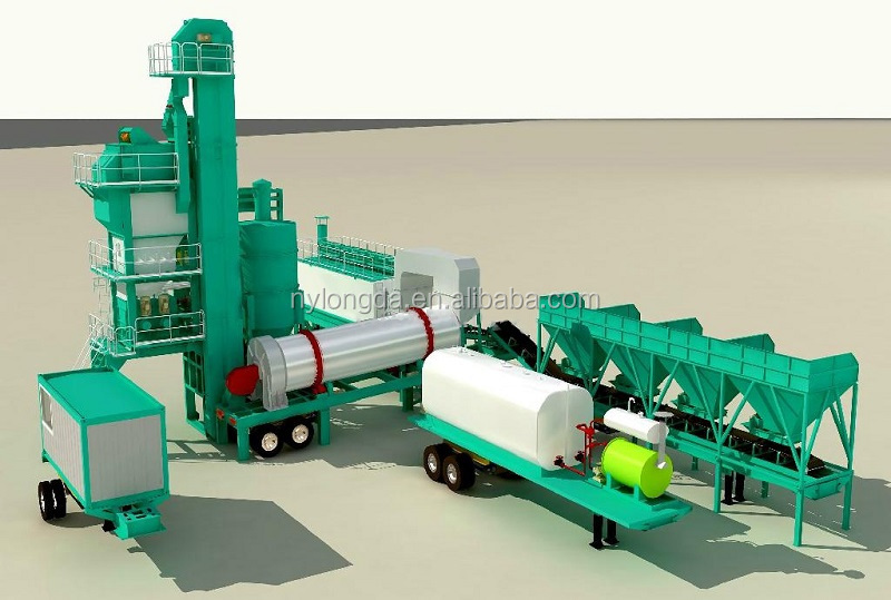 2016 Hot Sale YLB3000 Mobile asphalt mixing plant price, asphalt emulsion plant
