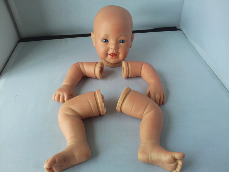 doll making soft vinyl reborn doll kits, baby doll face and hands
