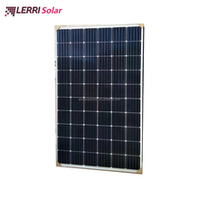 LERRI light 60 cell monocrystalline solar PV modules with factory warranty