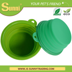 Wholesale fashion collapsible dog bowl