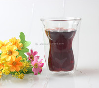 High quality 160ml 6oz Sexy Body Naked Lady Glass Tea Espresso Water Wine Cup Beauty Promotional Double Wall Pyrex Glass Cup