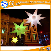 Advertising decoration cheap led inflatable star for sale