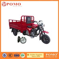 Hot sell 250cc semi-enclosed cargo trike motorcycle 250cc