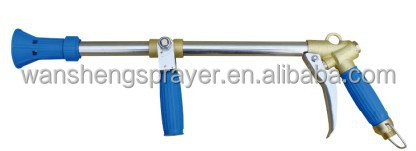 Long turbo, high pressure Italian power spray gun