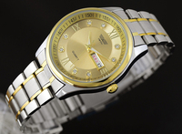 High-end luxury quartz movement fashion gold men watch