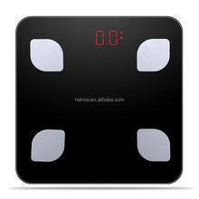 Step on Auto Power On Off Bathroom Digital Scale with LED Display