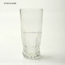 Crystal glass cup drinking water glass Tall Glass Tumbler glass cup/juice glass/glassware