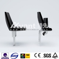 Three years warranty grandstand plastic chair for stadium