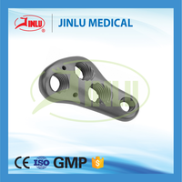 China factory Low cut design types of orthopedic plates surgical lock plates trauma