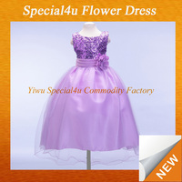 Fashion latest children frocks designs purple designer one piece party dress latest children frocks designs LYD-276