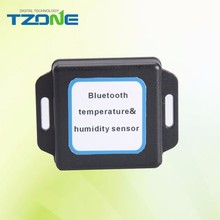 China supplier bluetooth temperature sensor temperature data logger with free app on Android smartphone