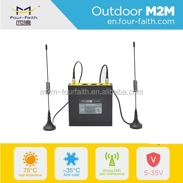 F3427 ethernet port LAN industrial 3g modem rj45 sim card for Automatic fare collection system V