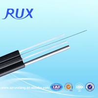China Manufacturer high speed 1 core FRP outdoor drop wire cable