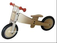 Wooden bicycle wood bike