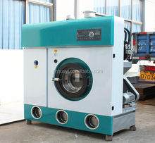 Large panel display of dry cleaning shop machine price