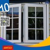 Single Pane Pvc Material Aluminium Windows