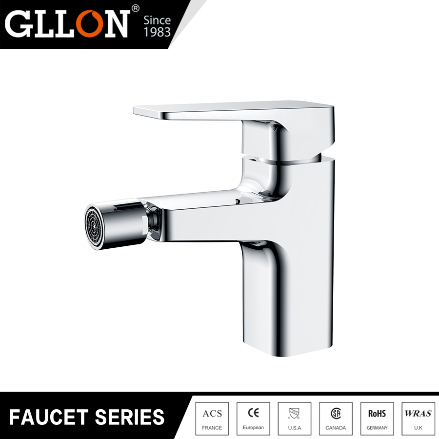 1293001C 2017 New products chrome finish wall mounted thermostatic bathtub basin faucet
