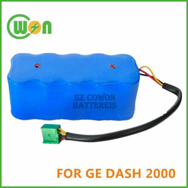 92916781 MD-BY10 B11325 95916781 REV B Battery for GE DASH2000, Battery for Marquette Medical Systems DASH 2000