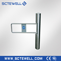 CE Approved Full automatic bi-directional supermarket barrier swing turnstiles gate