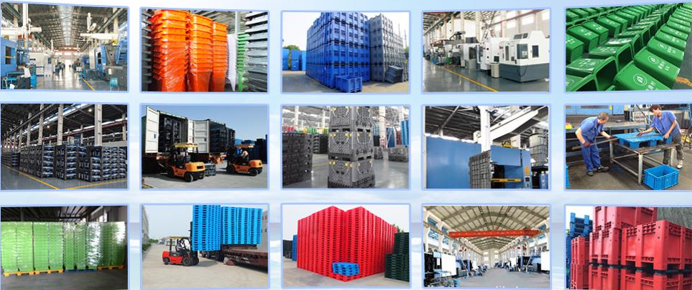 durable hdpe steel reinforced plastic pallet with manufacturer prices