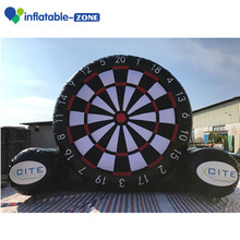 Inflatable target customized inflatable soccer dart board for adults