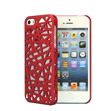 made in china new famous bird nest style phone case used for iphone 5s