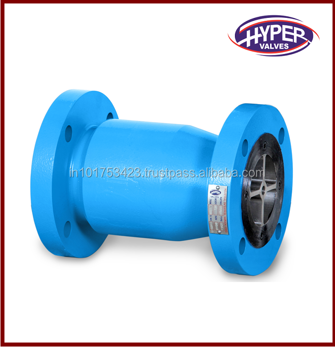 Axial Flow Non Slam Nozzle Check Valve