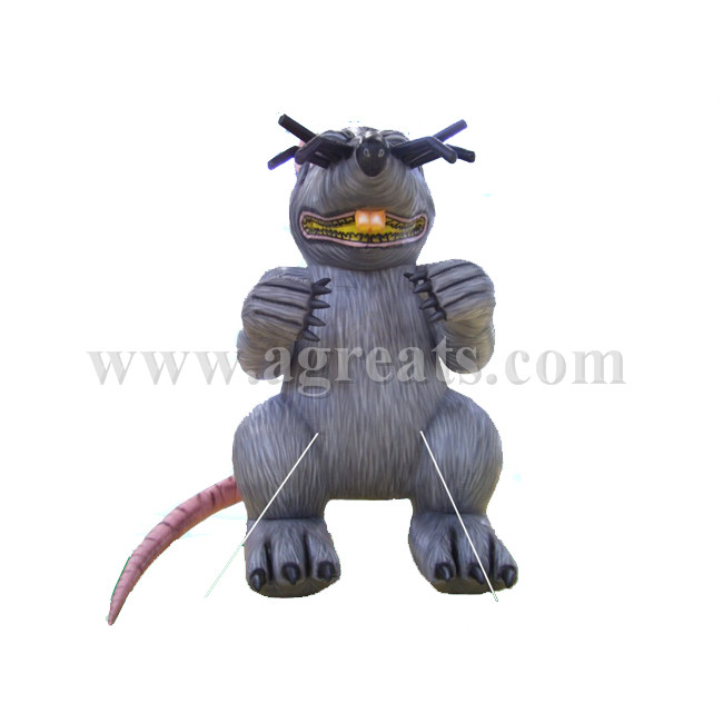 Advertising inflatable rat replica cold air balloon for sale S2025