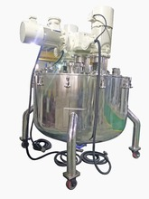 500L vacuum blending machine for powder vacuum filling&slurry transfer system