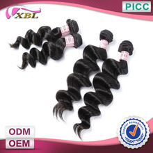 XBL Human Hair Wholesale 100 Percent Unprocessed Virgin Indian Remy Loose Curl Hair