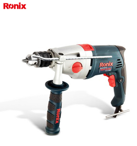 Ronix model 2220, 1050W ,13mm in stock Drill Power Tools Portable Handle Electric Impact Drill 13mm Machine,1 year warranty