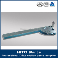 Enclosed Truck Hardware Guardrail For Refrigerator Truck Body