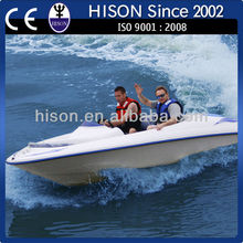 innovative Hison design fiberglass speed mini motor boat