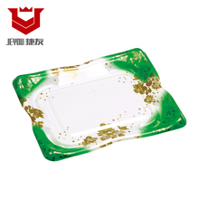 Printed Plastic Vacuum Sushi Container Disposable JY8105