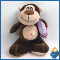 valentine gift plush toys monkey clutching a pillow