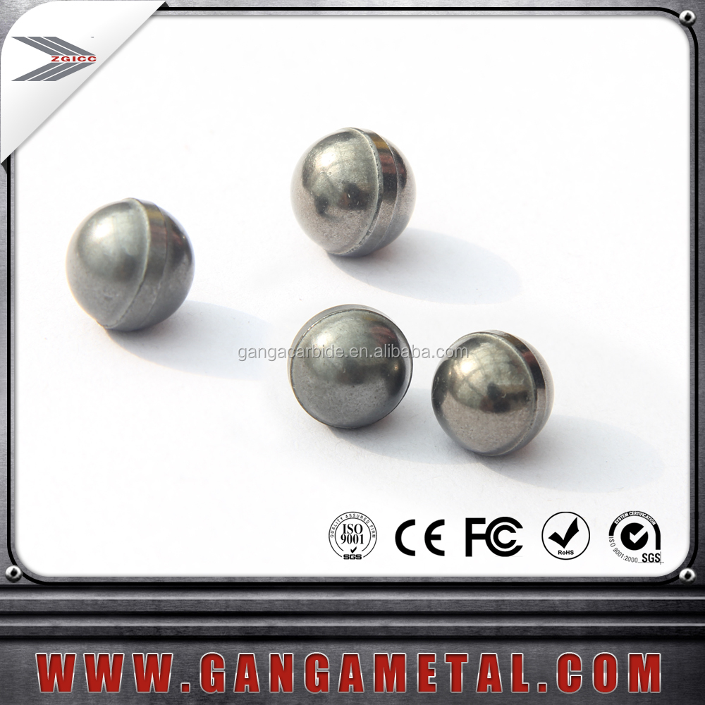 Various grade and size pure polished tungsten carbide ball grinding ball for bearing and milling