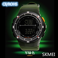 Skmei Luxury Brand Mens Sports Watches Dive 30m Digital LED Military Watch Men Fashion Casual Electronics Wristwatches