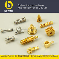 brass cnc machining spare part