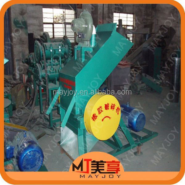 MAYJOY rubber crusher machine/waste tyre recycling machine production line(whatsapp:008613816026154)