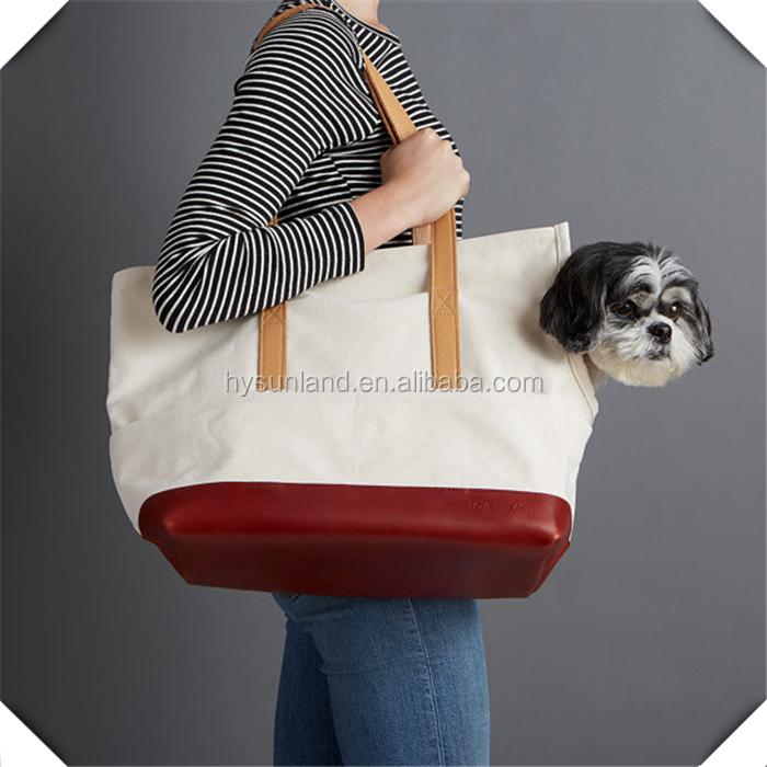 Hot sale Pet sling jogging pockets mixed jeans blue dog carrier bags