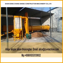 1206 Drying equipment 2 t/h wood sawdust rotary drum dryer for sale