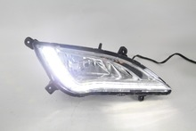2015 New Arrive LED DRL Light for Hyundai Elantra High Quality Daytime Running Light LED for Hyundai Elantra