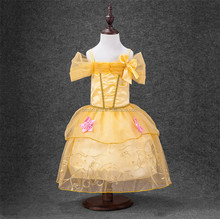 Girl Belle Princess Halloween Costume Party Fancy Dress Up cosplay costumes