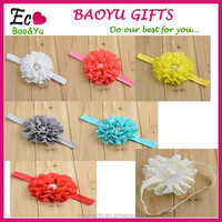 Christmas Gifts Fashion Baby Headbands Big Flower Lacework Baby Hair Band Beautiful Baby Girl Hair Accessories Infant Headband