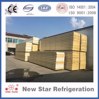 Polyurethane insulated sandwich panel for cold storage